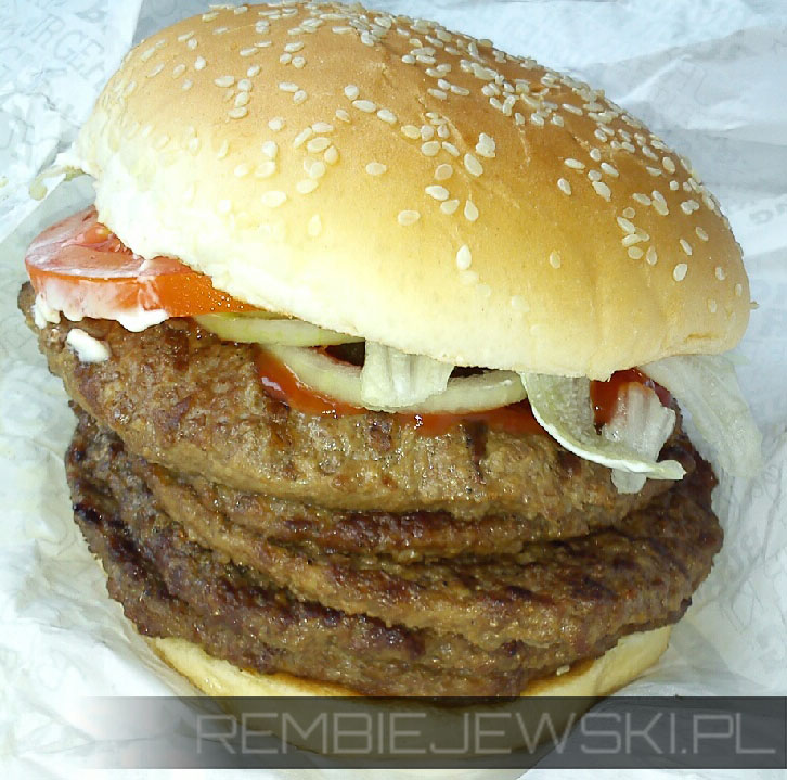 Quintuple Whopper W ten weekedn w...