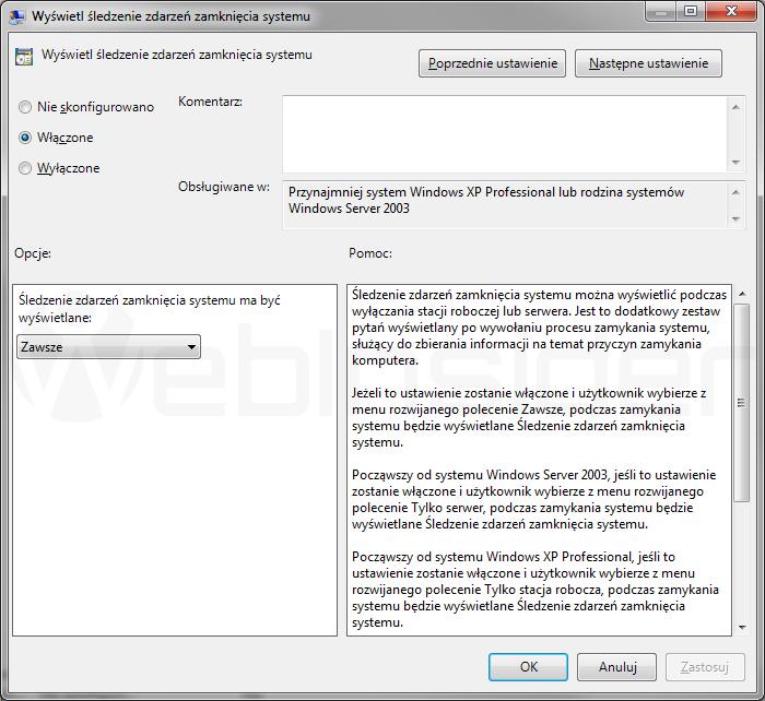 windows7_gpedit_sledzenie-zdarzen-zamkniecia-systemu