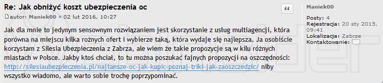 silesia-ubezpieczenia_spam_forum-fiat-pl_201501