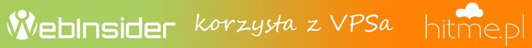 Webinsider korzysta zVPSa wHitMe.pl