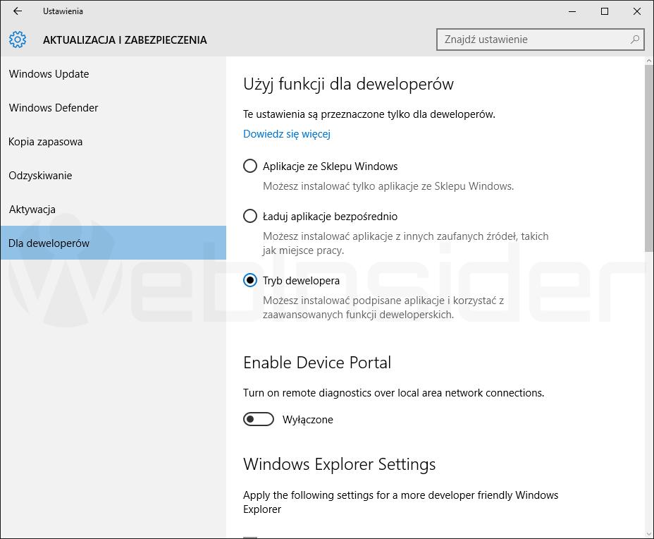 windows10_ustawienia_aktualizacja-i-zabezpieczenia_dla-deweloperow_14316_01