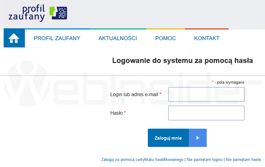 profil-zaufany_pz-gov-pl_logowanie