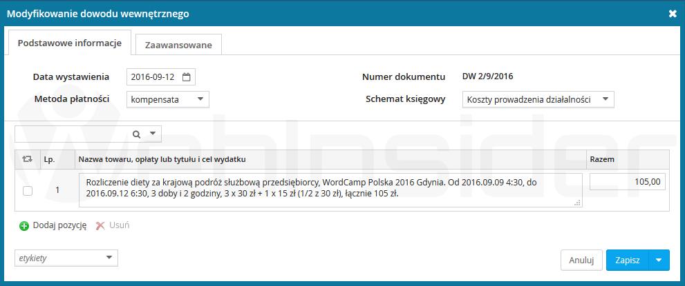 wfirma_wyjazd-sluzbowy_dieta_wordcamp-polska-2016-gdynia_nowy-dowod-wewnetrzny