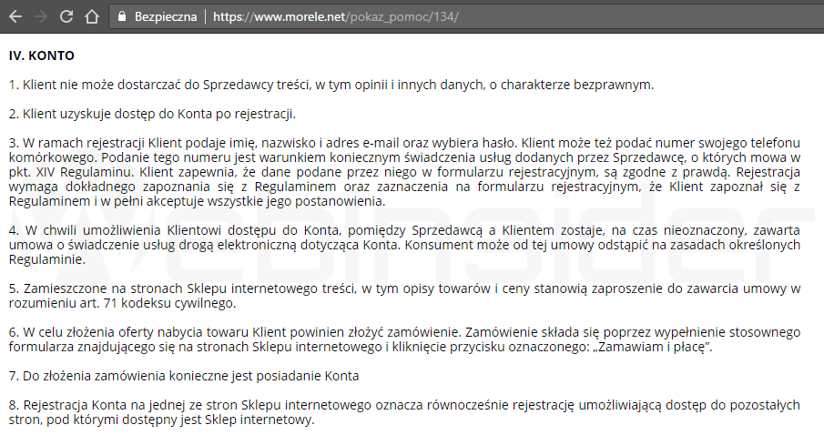 a152e7df57b747 Sklep internetowy Mediatos.pl, czyli precle, amatorskie SEO, lewe ...