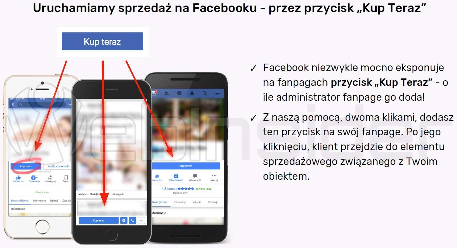 """3e6a09a6640cb5 Sprzedawaj produkty i usługi na Facebooku, czyli przycisk """"kup teraz ..."""