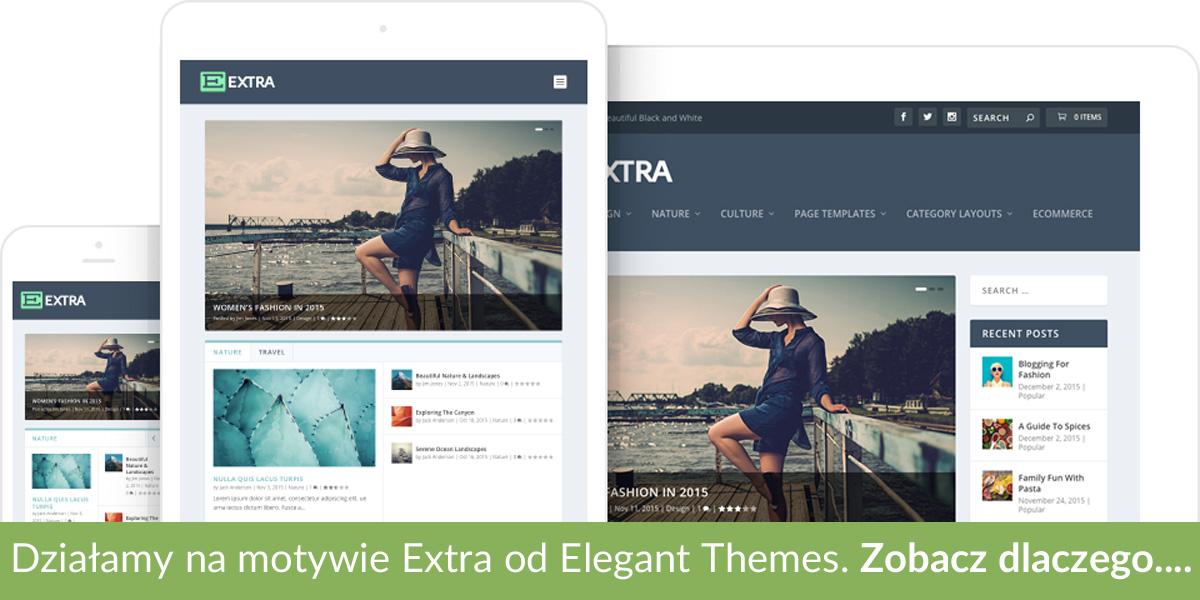 Na WebInsider.pl korzystamy z motywu Extra od Elegant Themes. Zobacz dlaczego...
