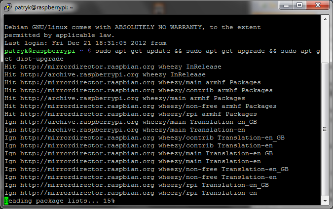 raspberry-pi_ssh_update-upgrade